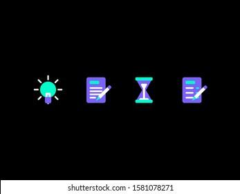 Idea, Notes, Time & Tasks