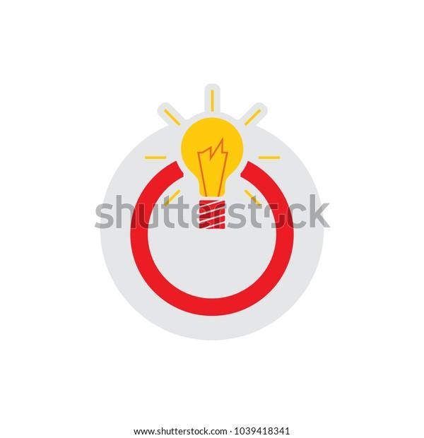 Idea Power Logo Icon Design
