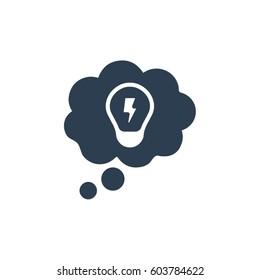 Idea Thinking Icon