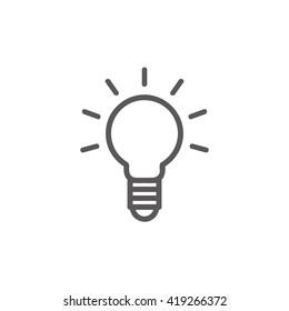 Idea vector illustration.
