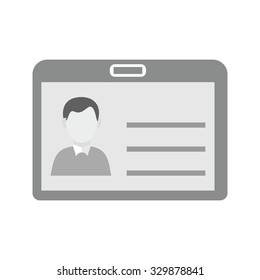 Identity card, information, account icon vector image. Can also be used for banking, finance, business. Suitable for web apps, mobile apps and print media.