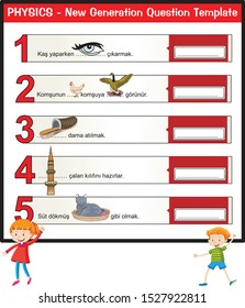 idioms, sentence completion, sentence, for teachers, new generation question template, different design, schoolgirl and boy student