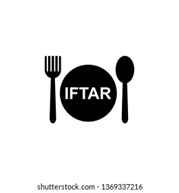 iftar icon. Element of ramadan icon. Premium quality graphic design icon. Signs and symbols collection icon for websites, web design