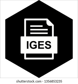 IGES File Document Icon