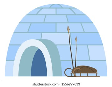 Igloo Lapland Stock Illustrations Images Vectors Shutterstock