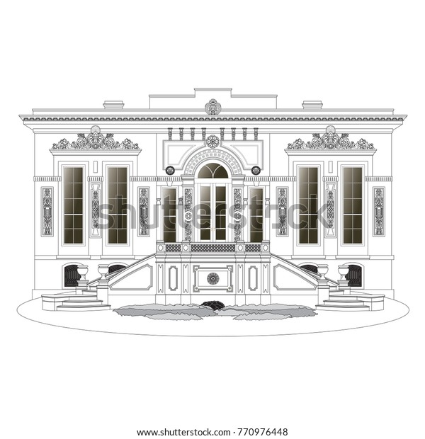 ihlamur Palace Court Pavilion vector