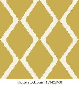 Ikat indian seamless modern pattern for home decor or web design, trendy seamless background
