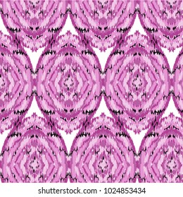 ikat ogee pattern traditional Design for background,carpet,wallpaper,clothing,wrapping,Batik,fabric,Vector illustration.embroidery style.