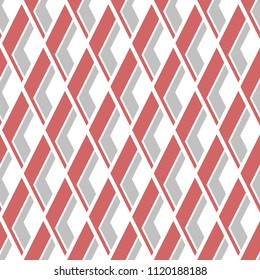 Ikat pattern. Seamless design. Vector background with geometric rhombuses. Ethnic fashion tiles.