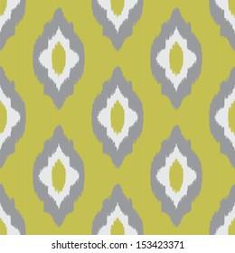 Ikat vintage seamless pattern for web design or home decor