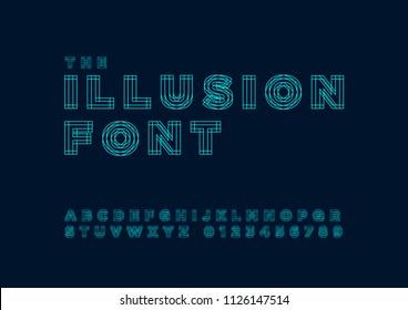 The illusion Font set