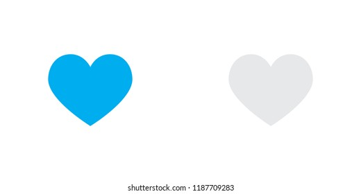An Illustrated Icon Isolated on a Background - Heart