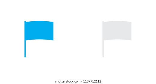 An Illustrated Icon Isolated on a Background - Arc Flag