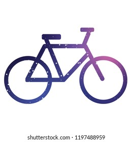 An Illustrated Icon Isolated on a Background - Bicycle