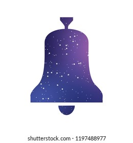 An Illustrated Icon Isolated on a Background - Bell
