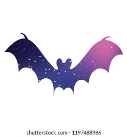 An Illustrated Icon Isolated on a Background - Bat2
