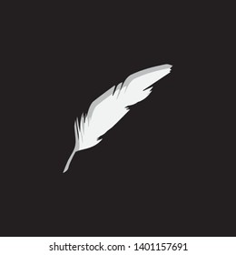 An Illustrated Icon Isolated on a Background - Quill