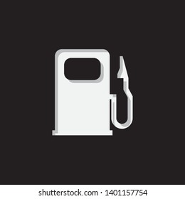 An Illustrated Icon Isolated on a Background - Petrol Pump Light