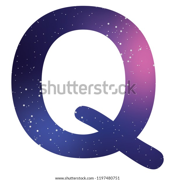 An Illustrated Icon Isolated on a Background - Q