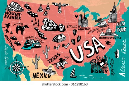 United States Travel Map Images Stock Photos Vectors Shutterstock - Us-travel-map