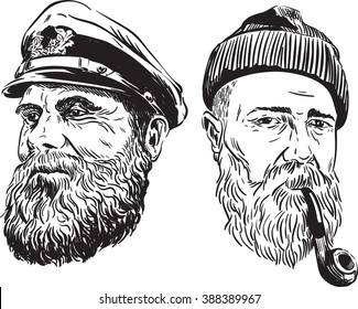 Illustrated Sailors