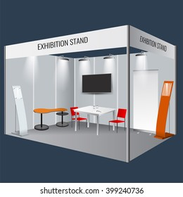 Exhibition Stand Mockup : Download this free exhibition stand mockup in psd designhooks