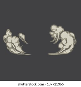 illustration 2d explosion.