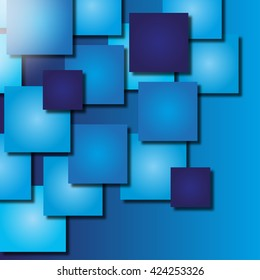 an illustration of an abstract background with squares