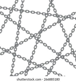 Illustration of the abstract chain pattern