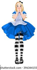 Illustration of Alice from Wonderland
