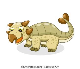 illustration of Ankylosaurus animals