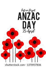 Illustration Of anzac Day Background.