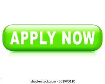 Illustration of apply now button on white background
