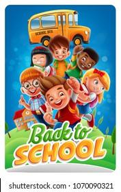 illustration for back to school