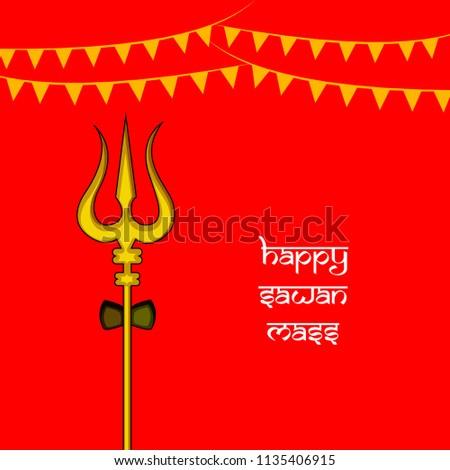 illustration background occasion hindu religion festival stock
