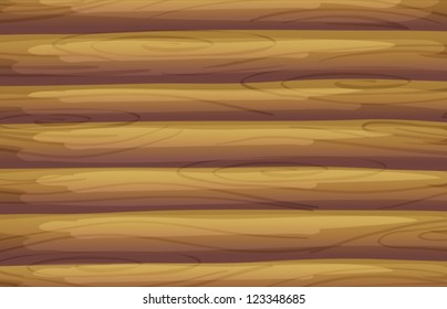 Illustration of a bamboo background