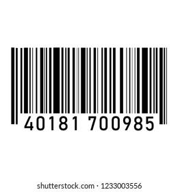 illustration of barcode icon