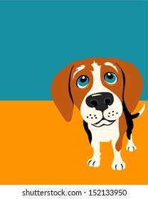 Illustration of a Beagle Dog