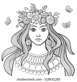 98+ Woman Coloring Book For Adults HD