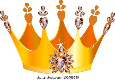 Princess Crown Cartoon Images Stock Photos Vectors Shutterstock Great craft for kids to make. https www shutterstock com image vector illustration beautiful gold tiara 100488550