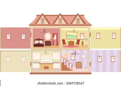 Doll House Images Stock Photos Vectors Shutterstock