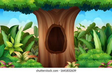 Tree Trunk Hole Stock Illustrations Images Vectors Shutterstock Find images of cartoon tree. https www shutterstock com image vector illustration big trunk tree hole 1641832639