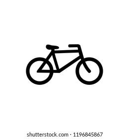 illustration of bike symbol
