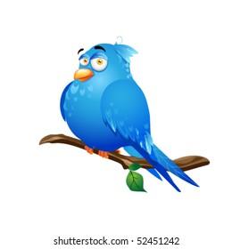 illustration of bird with white background