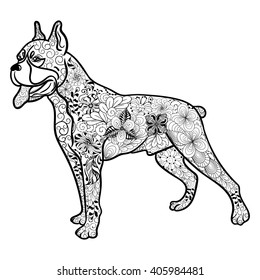 1000 Dog Coloring For Adults Stock Images Photos Vectors