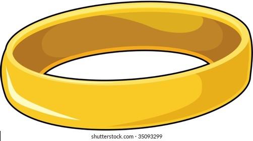 illustration of bracelet on white