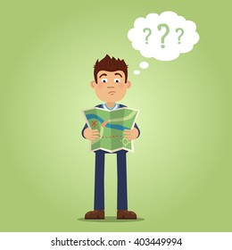 Subway Map Confused Guyu.Confused Map Images Stock Photos Vectors Shutterstock