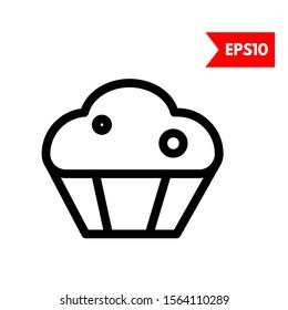 illustration of cake bag icon