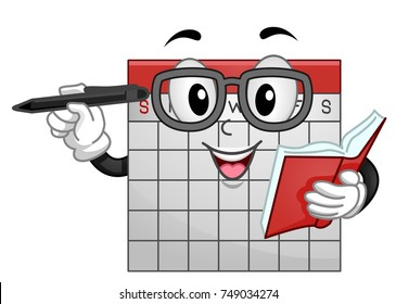 calendar cartoon images stock photos vectors shutterstock