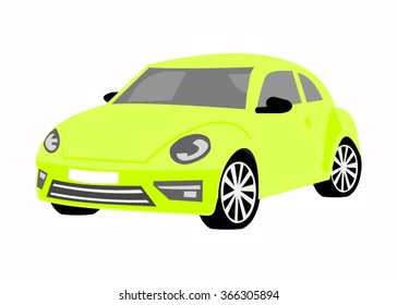 Illustration of the car